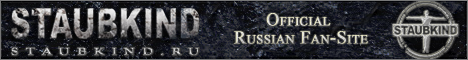 Первый русскоязычный фан-сайт о STAUBKIND (Немецкий рок из Берлина)